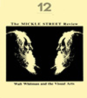 Issue 12: Whitman and the Visual Arts